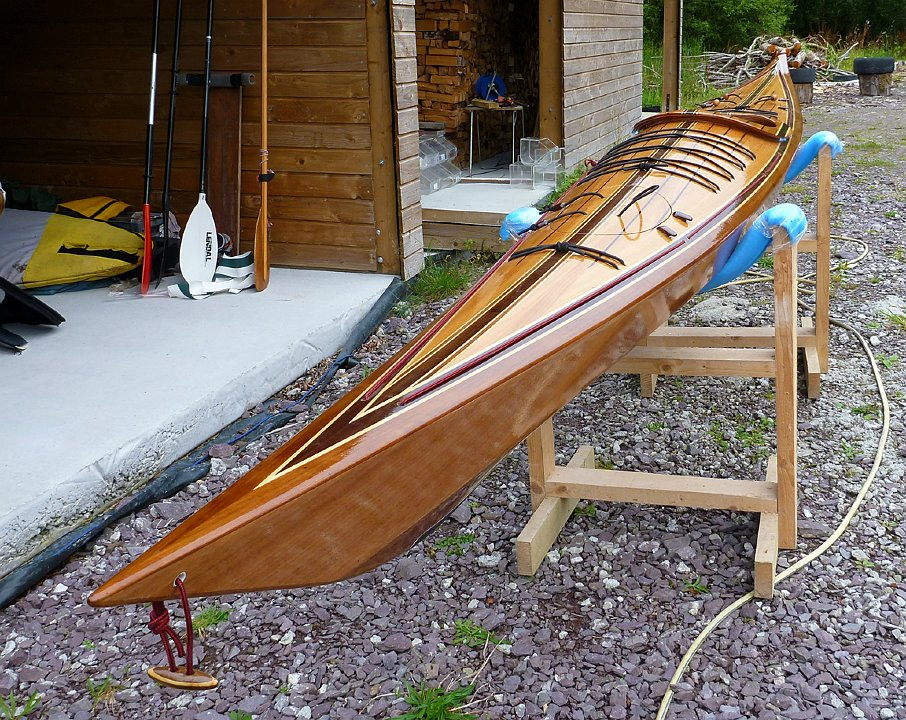 Shearwater 17 Hybrid sea kayak