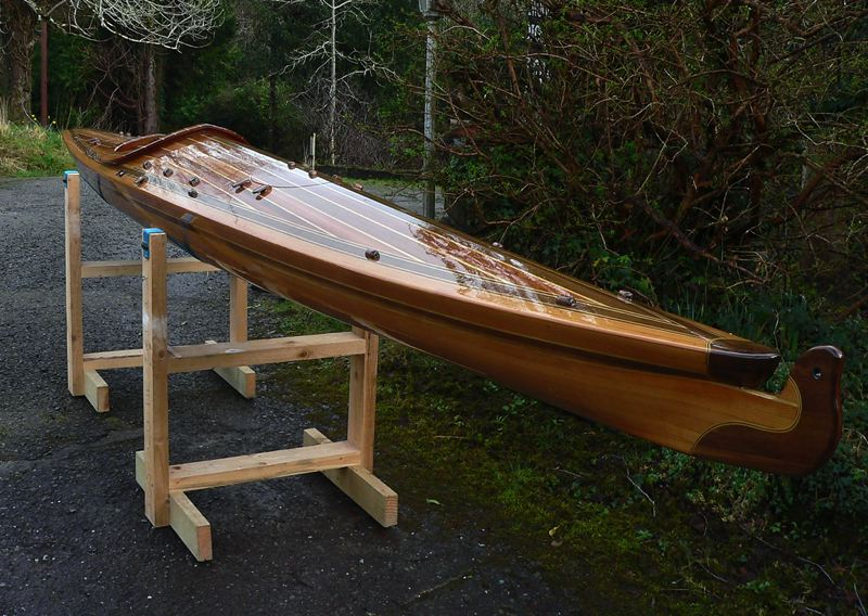 Building The Pole Dancer Cedar                                 Strip Sea Kayak